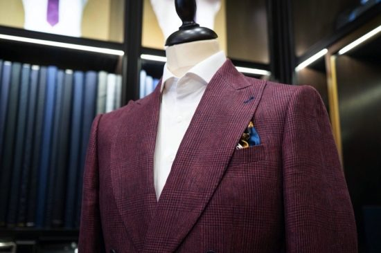Travelling Tailor service by Collars&Cuffs