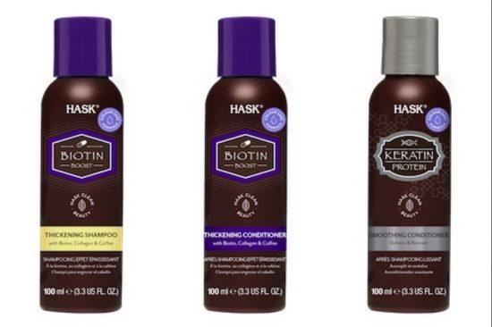 خصلات شعرك متألقة في العطلات مع منتجات 'هاسك' الجديدة