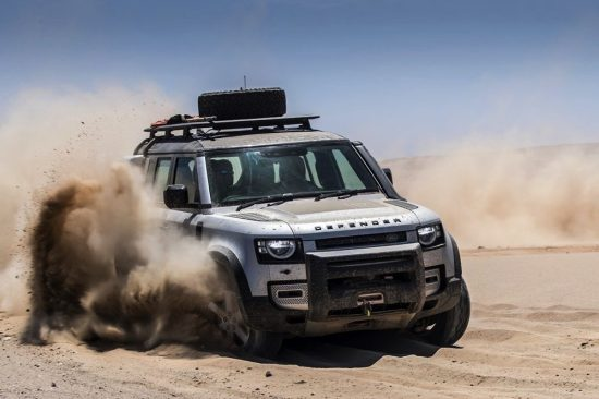 JAGUAR LAND ROVER USING AEROSPACE TECHNOLOGY
