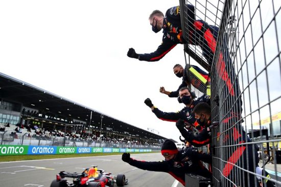فيرشتابين سائق هوندا يحتل المركز الثاني في جائزة إيفل الكبرى