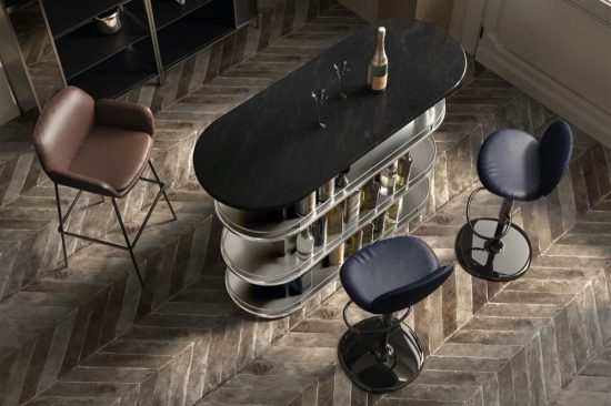 Raising the Bar-story with essentials from the House of Natuzzi