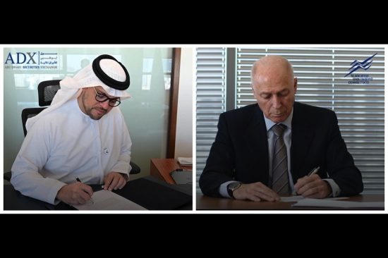 Abu Dhabi Securities Exchange and the Tel Aviv