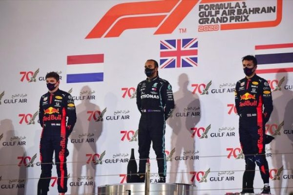 Honda Earns Double F1 Podium in Bahrain