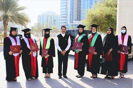 Gulf Medical University Graduated 354 Healthcare Professionals