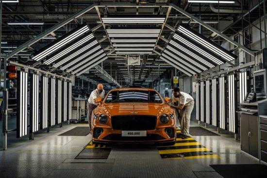 Bentley تبتكر 80,000 سيارة متميّزة من Continental GT