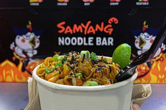 The Middle East's First Samyang Spicy Noodle Bar Has Launched