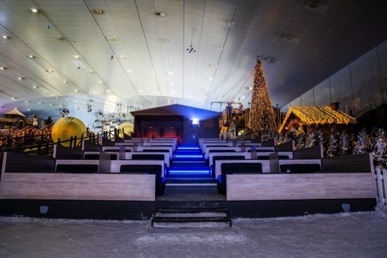 Don't miss your last opportunity to experience Snow Cinema