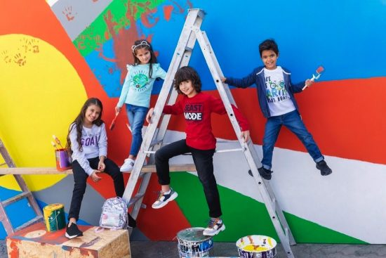Let your kids express themselves with styles that stand out