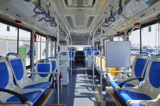 Abu Dhabi rolls out green public transport fleet of buses,