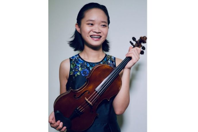 Park House English School Student wins best violinist award at Young Musicians of the Gulf Competition