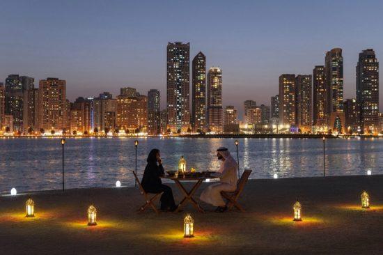 A Beautiful 'By the Bay Iftar' at Sharjah's Al Noor Island