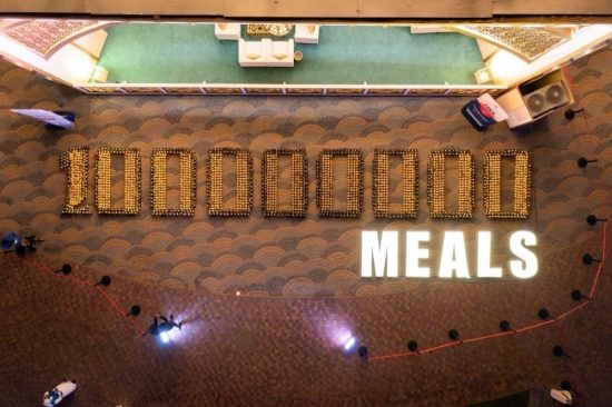 Global Village supports 100 Million Meals campaign