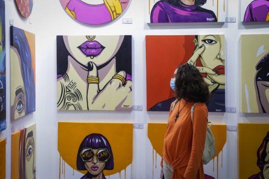 WORLD ART DUBAI'S INCREDIBLE ARRAY OF ARTISTS