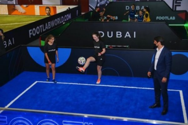 FOOTLAB, the World's first Indoor Football, Entertainment