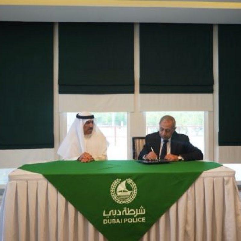 الأكاديمية العربية للعلوم والتكنولوجيا والنقل البحري توقع اتفاقية مع شرطة دبي