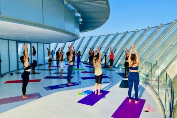 Enjoy yoga in the sky at The View at The Palm