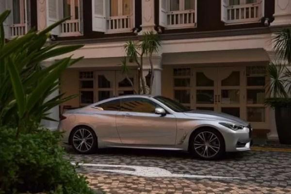 INFINITI Q60: A sleek luxury sports coupe at Arabian Automobiles