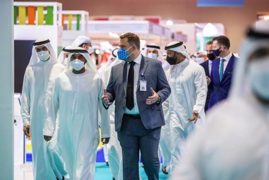 أحمد بن سعيد يفتتح رسمياً معرضي الصحة العربي وميدلاب