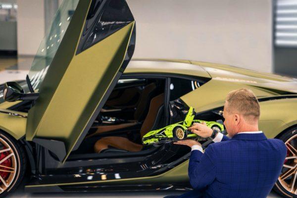 Automobili Lamborghini and the LEGO Group recreate FKP 37