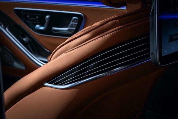 أعلى مستويات الرفاهية والراحة والحماية في سيارة S-Class