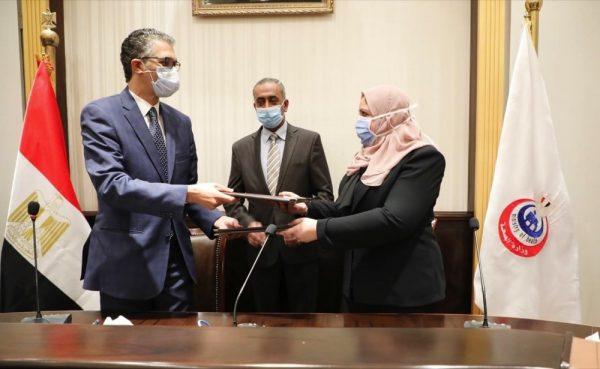لتقديم التوعية للحد من انتشار (الإيدز)الصحة المصرية توقع مذكرة
