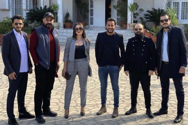 الفنانة سارة لعلامة  في بطولة مسلسل مشاعر وفيلم سينمائي
