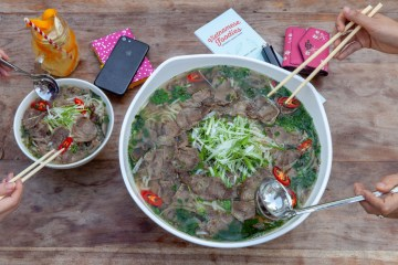 pho eat challenge Vietnamese Foodies