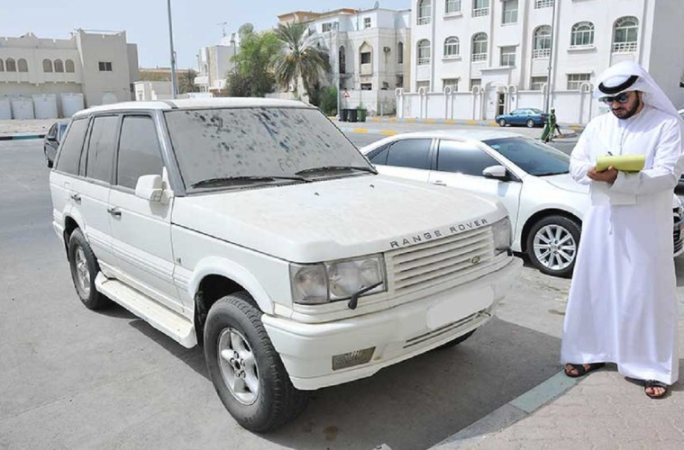 Dubai Municipality Issuing Dhs 500 Fine For Dirty Cars
