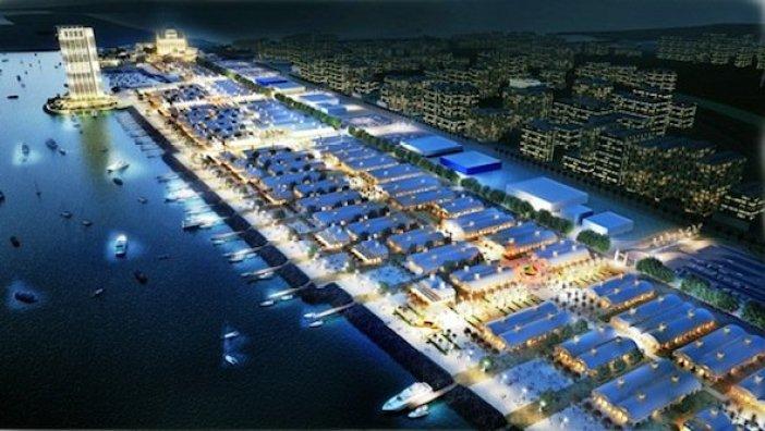 Zombie theme park Deira Islands Dubai 2020