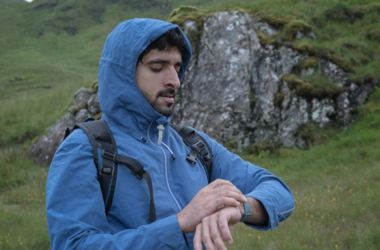Fazza Sheikh Hamdan hiking expedition Scottish Highlands
