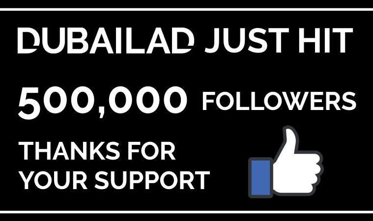 dubailad 500,000 followers
