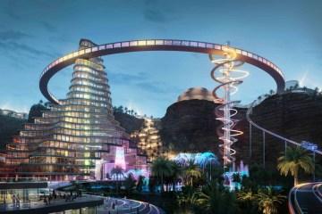 Saudi Arabia World's Fastest Roller Coaster Six Flags 2023