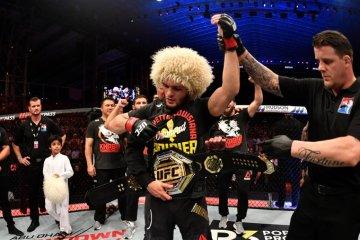Dustin Poirier Khabib Nurmagomedov UFC 242 Post conference tears