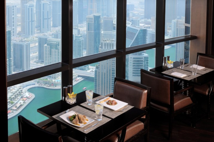 Dubai Marriott Harbour Hotel and Suites Dining 50% off Staycation