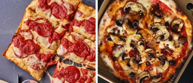 Dubai UAE Top 5 Pizza Spots Pizzerias Freedom Pizza Detroit Pizza Deep dish Cheese