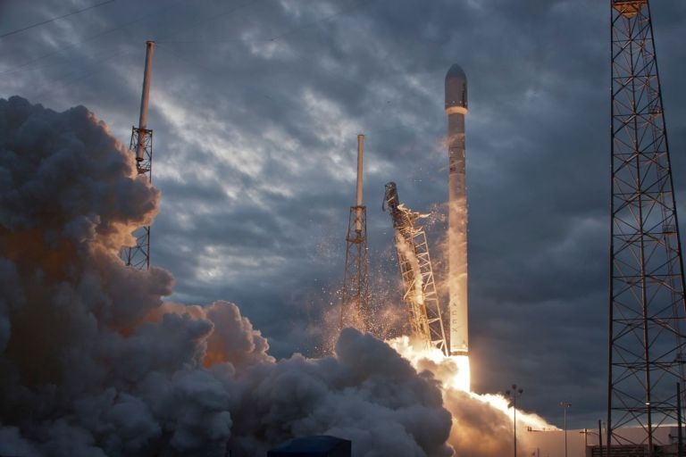 A space mission launches today