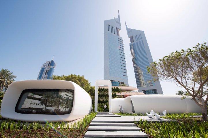 Dubai 3d-printed building world's largest Dubai Municipality Al Warsan