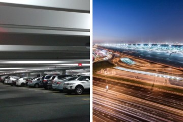 Asian Car Motorist Dubai Airport Cargo Village Parking Passed Away Fall Plunge Ground Dubai Police