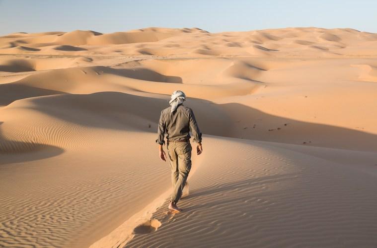 Max Calderan takes on the Empty Quarter