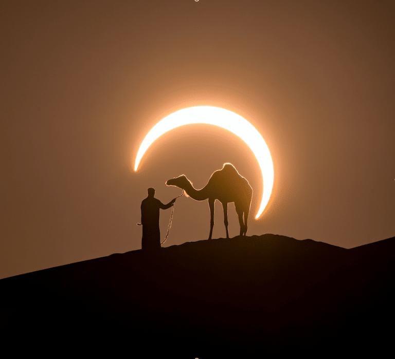 UAE solar eclipse coming this June