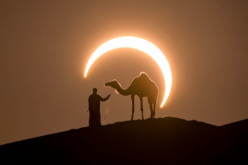 UAE solar eclipse coming this June