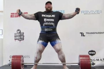 The Mountain breaks world deadlift record