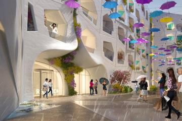 Dubai to build Raining Street