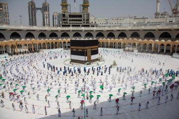 Socially distanced Hajj pilgrimage begins in Saudi