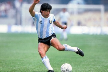 Diego Maradona has died of a heart attack aged 60