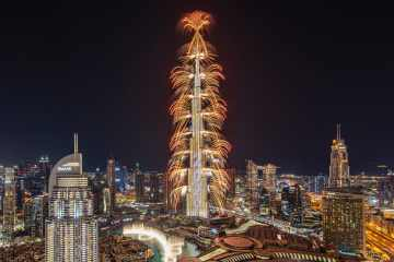 Burj Khalifa fireworks confirmed New Year's Eve