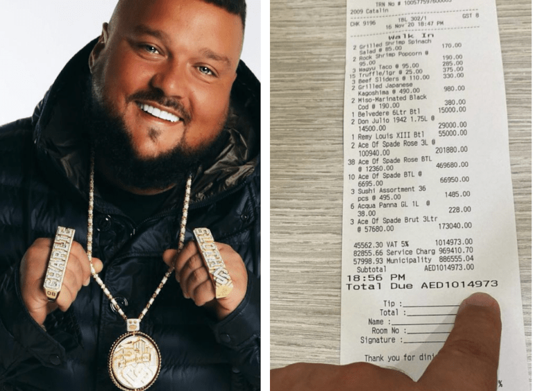 UK DJ spends over AED1 million on bar bill after a really big party