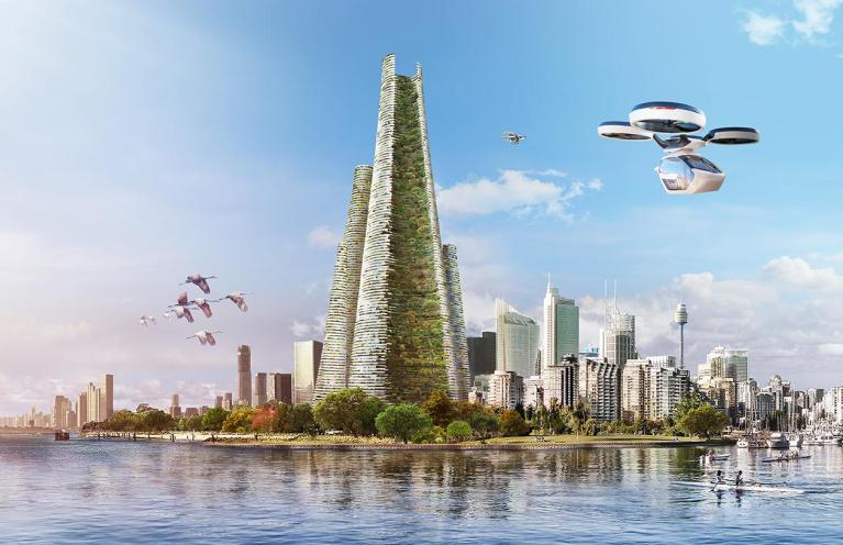 This city of the future could still be a reality in Dubai