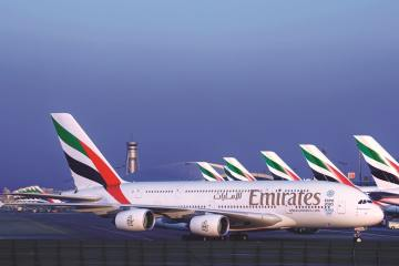 London to Dubai now the busiest flight route in the world