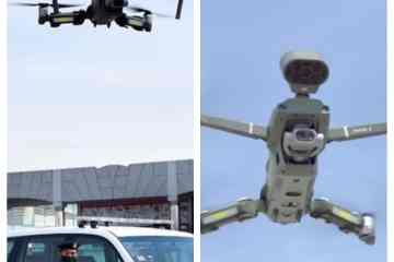 Drone army takes to the skies in Sharjah to enforce social distancing